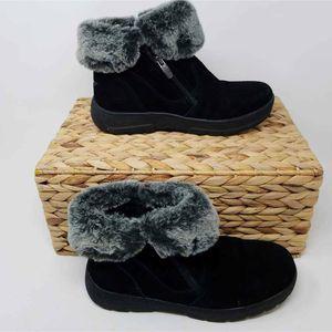EUC Khombu Womens Side Zipper Winter Boots 7
